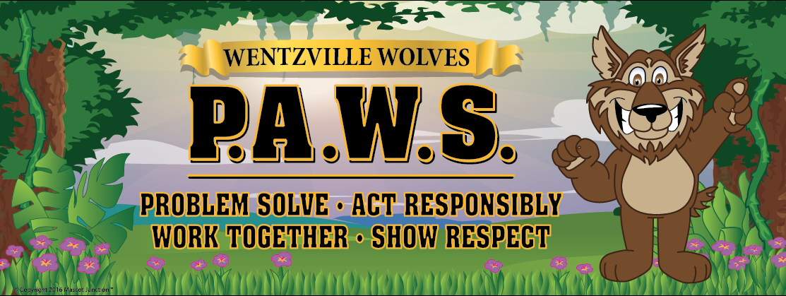 PAWS Wolves Banner