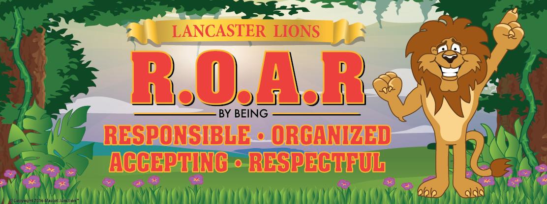 ROAR Lion Banner