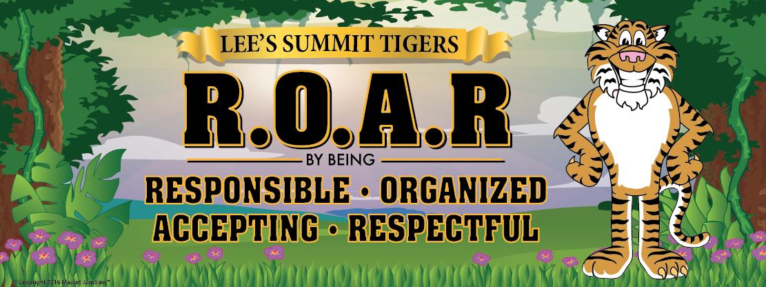 ROAR Tiger Banner