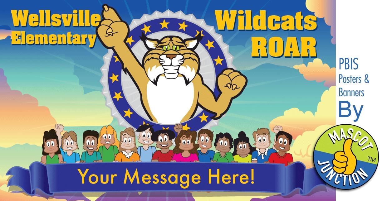 Wildcats ROAR Banner