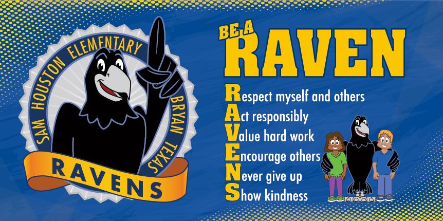 Raven Banner School PBIS